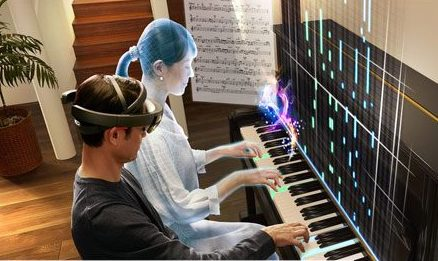 augmented reality in music