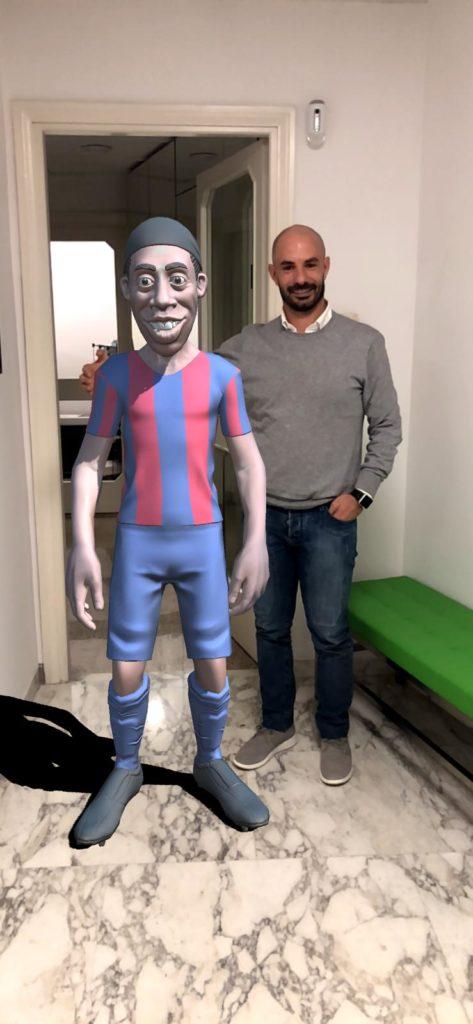 augmented reality in sport realtà aumentata nello sport